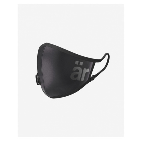 är Big Logo Maska s ventilom a nanofiltrom detská Čierna