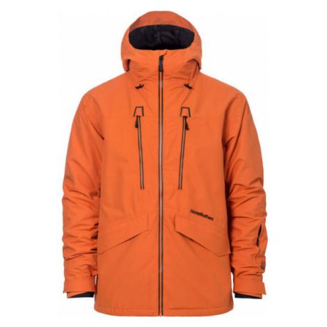 Horsefeathers HALEN TYLER JACKET oranžová - Pánska lyžiarska/snowboardová bunda