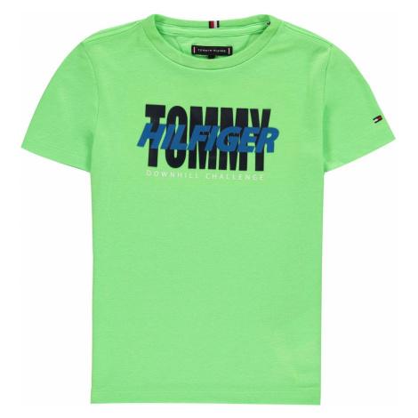 Tommy Hilfiger Junior Boys Alpine Short Sleeve T Shirt