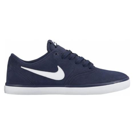 Nike SB CHECK SOLARSOFT tmavo modrá - Pánske tenisky
