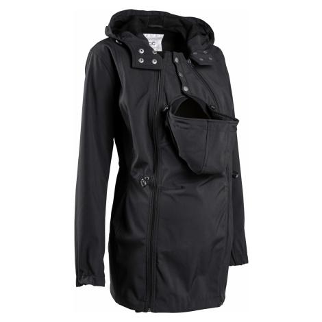 Materská softshellová bunda/bunda na nosenie, prestaviteľná šírka bonprix
