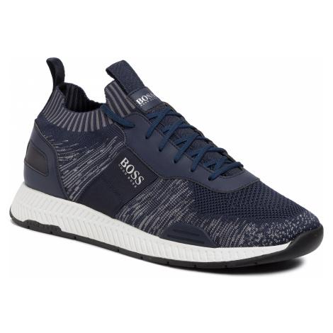 Sneakersy BOSS - Titanium 50428541 10225853 01 Dark Blue 401 Hugo Boss