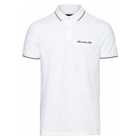 Abercrombie & Fitch Tričko  biela