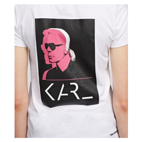 Tričko Karl Lagerfeld Karl Legend Double Print Tee