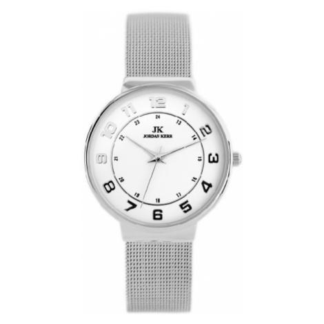 Dámske hodinky v striebornom prevedení Jordan Kerr 4623FB-B