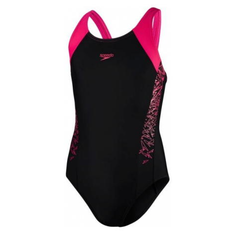 Speedo BOOM SPLICE MUSCLEBACK - Dievčenské plavky