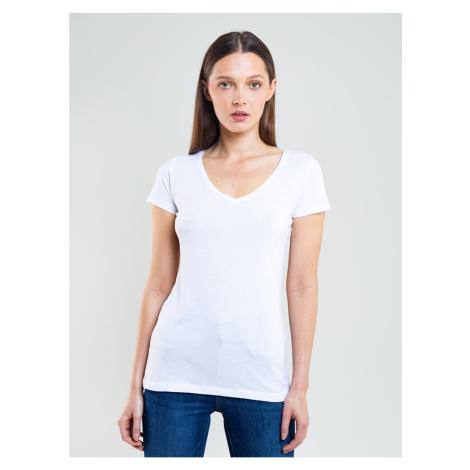 Big Star Woman's Shortsleeve V-neck T-shirt 150043 -101