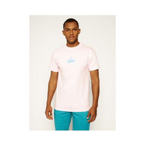 HUF Tričko Forbidden Domain TS01051 Ružová Regular Fit