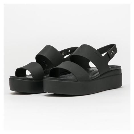 Crocs Crocs Brooklyn Low Wedge W black / black