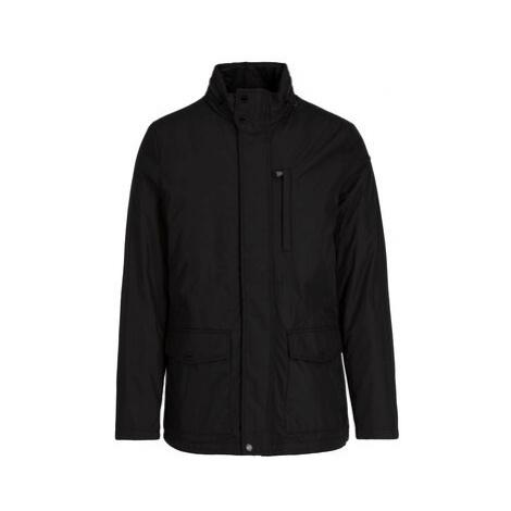 Geox Prechodný kabát M9420H T2585 F9000 Čierna Regular Fit