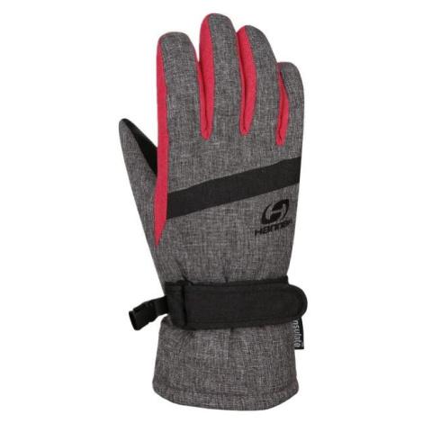 Hannah CLIO sivá - Detské zateplené rukavice