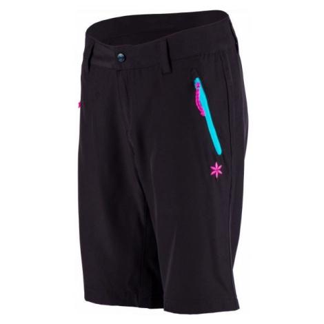 Willard PORA čierna - Dámske outdoorové šortky