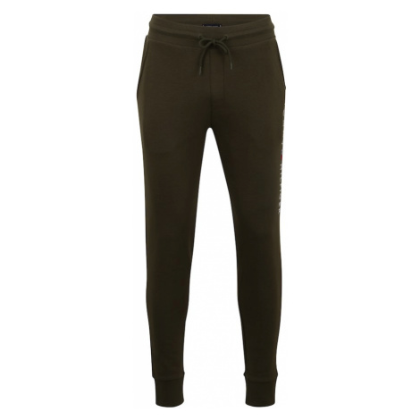 Tommy Hilfiger Underwear Pyžamové nohavice  olivová