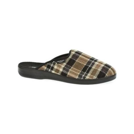 Mjartan Pánske papuče DAMIÁN 3 Hnedá