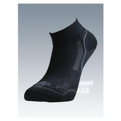 Ponožky so striebrom Batac Classic short - black