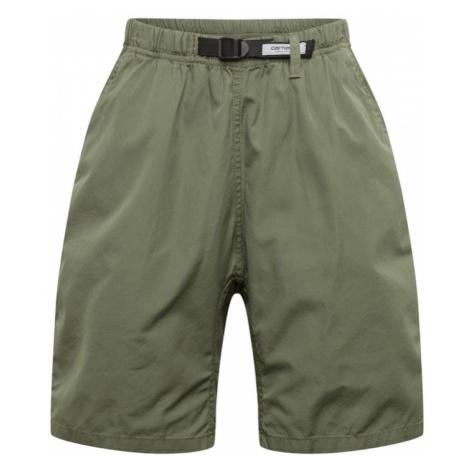 Carhartt WIP Nohavice  zelená