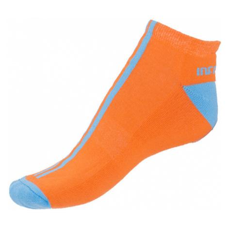 Ponožky Infantia Softline oranžové s modrou linkou S