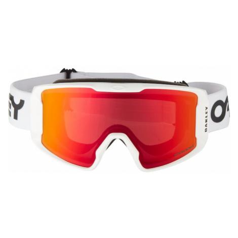 OAKLEY Športové okuliare 'Line Miner M'  červená / biela