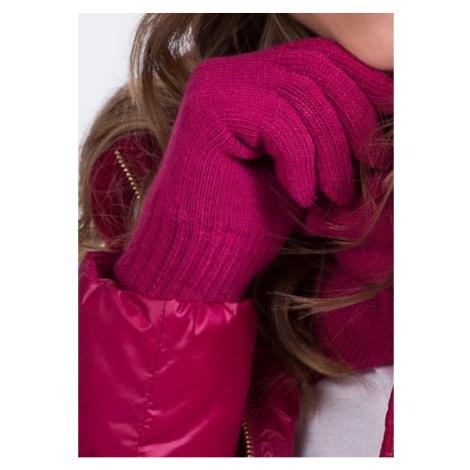 Kamea Woman's Gloves K.18.959.30 Fuchsia