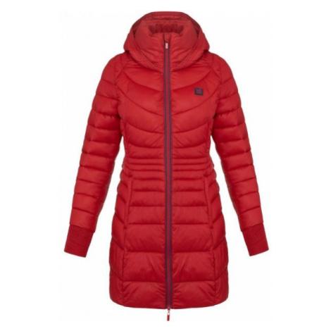 Loap JESNA červená - Dámsky zimný kabát