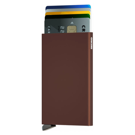 Secrid Cardprotector Brown-One size hnedé C-BROWN-One size