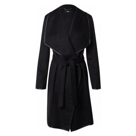 s.Oliver BLACK LABEL Prechodný kabát  čierna