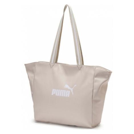 Puma CORE UP LARGE SHOPPER WMN béžová - Dámska štýlová taška