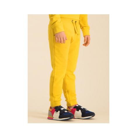 Guess Teplákové nohavice H01T02 K8D80 Žltá Regular Fit