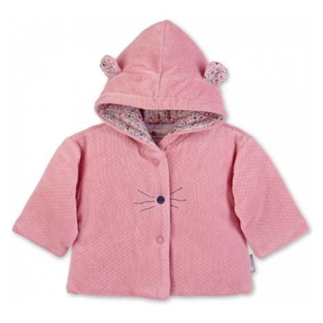 STERNTALER Prechodná bunda 'Mabel'  ružová / biela / námornícka modrá