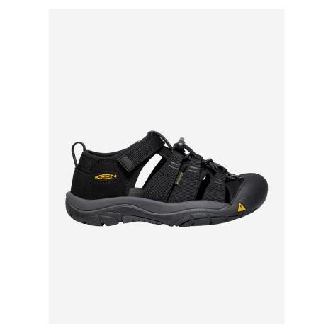 Topánky Keen Newport H2 K Black/Keen Yellow Us Čierna