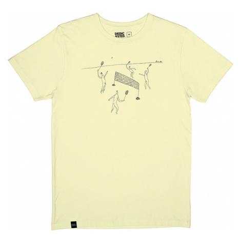 Dedicated T-shirt Stockholm Badminton Pale Yellow-L žlté 16623-L