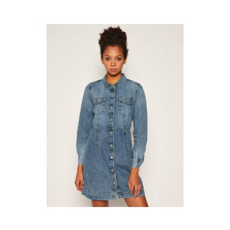 Levi's® Džínsové šaty Ellie 38950-0002 Tmavomodrá Regular Fit Levi´s