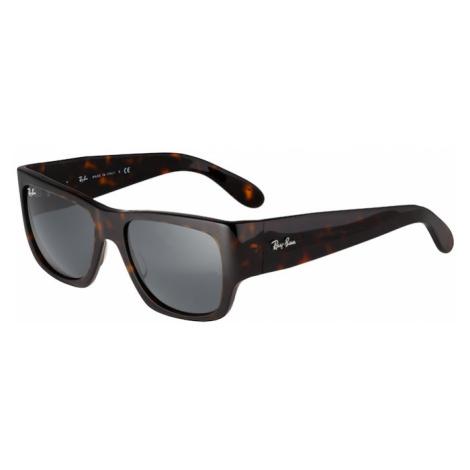 Ray-Ban Slnečné okuliare  tmavohnedá
