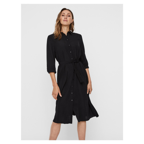 Cara Šaty Vero Moda Čierna