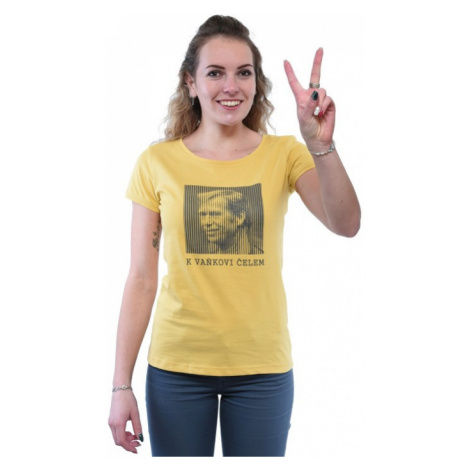 Bushman tričko Vaněk W yellow