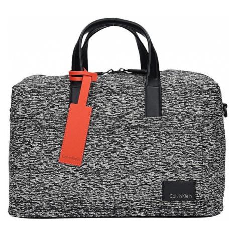Pánska cestovná taška Calvin Klein Oliver - čierno-biela