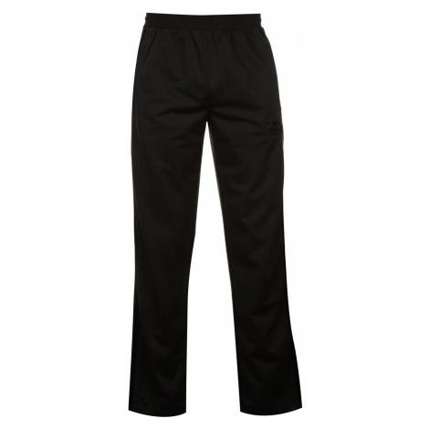 Lonsdale Track Pants Mens Charcoal/Black