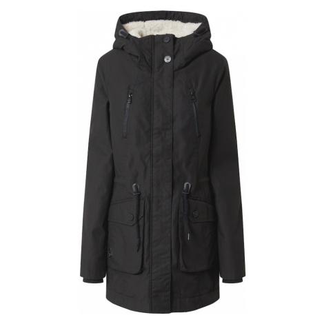 Ragwear Zimný kabát 'Elsa'  čierna