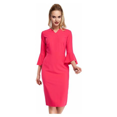 Ružové šaty MOE 299
