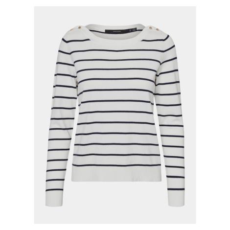 Vero Moda biele sveter Alma