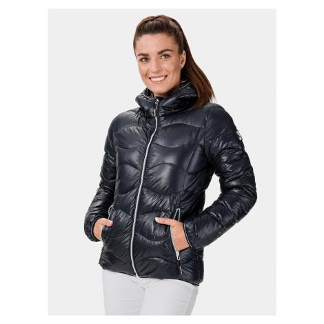 Tmavomodrá dámska zimná bunda SAM 73