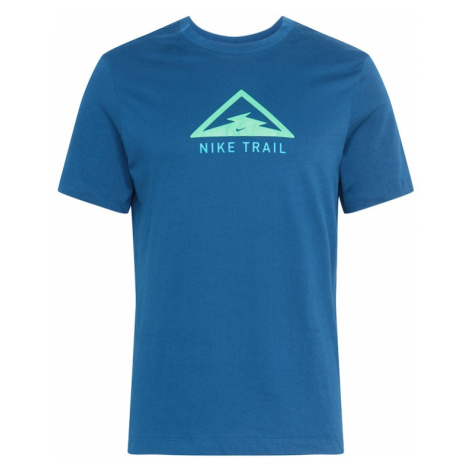 NIKE Funkčné tričko  námornícka modrá