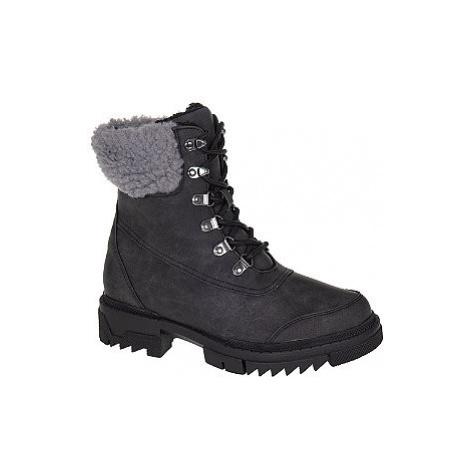 Čierna šnurovacia obuv Vero Moda