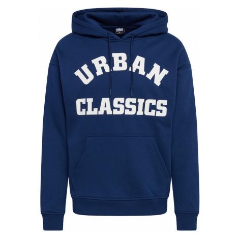 Urban Classics Mikina  námornícka modrá / biela