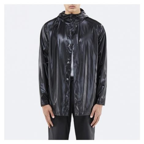 Rains Short Coat 1267 SHINY BLACK