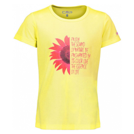 CMP KID G T-SHIRT - Dievčenské funkčné tričko