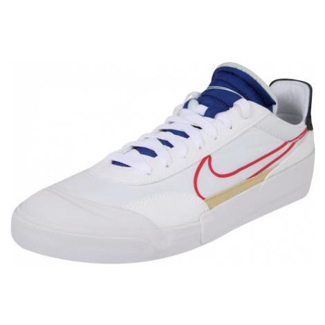 Nike Sportswear Nízke tenisky 'Nike Drop-Type'  biela / červená / kráľovská modrá