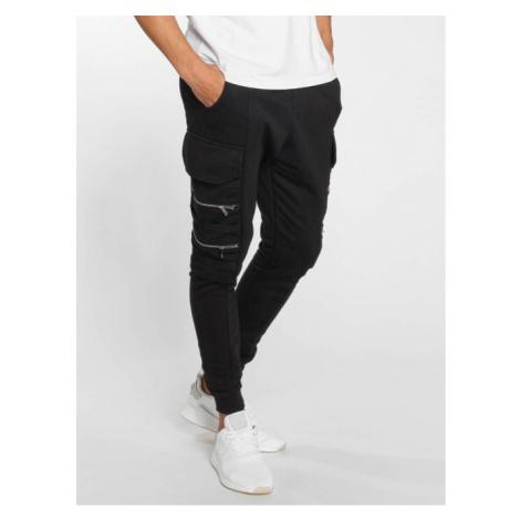 Bangastic / Sweat Pant Zipper in black - Veľkosť:2XL