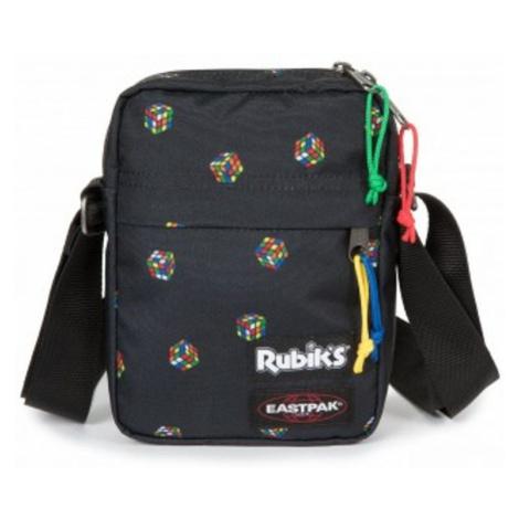 Čierna taška cez plece s rubikovou kockou EASTPAK