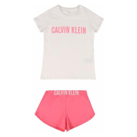 Calvin Klein Underwear Pyžamo 'POWER'  ružová / biela